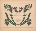 Art Nouveau, Jugendstil, Secession, Graphic Design
